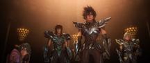 Os Cavaleiros do Zodíaco: A Lenda do Santuário - Imagem promocional - Cavaleiros de Bronze