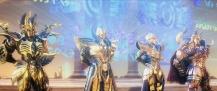 Os Cavaleiros do Zodíaco: A Lenda do Santuário - Imagem promocional - Cavaleiros de Ouro