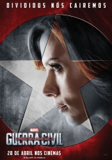 Capitão América: Guerra Civil - Poster da Viúva Negra - #TimeHomemDeFerro