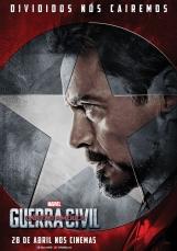 Capitão América: Guerra Civil - Poster do Homem de Ferro - #TimeHomemDeFerro
