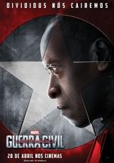 Capitão América: Guerra Civil - Poster do Máquina de Guerra - #TimeHomemDeFerro