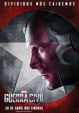 Capitão América: Guerra Civil - Poster do Visão - #TimeHomemDeFerro