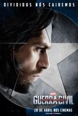 Capitão América: Guerra Civil - Poster do Soldado Invernal - #TimeCapitãoAmérica