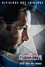 Capitão América: Guerra Civil - Poster do Homem Formiga - #TimeCapitãoAmérica