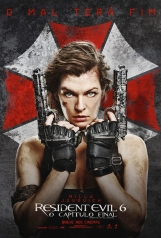 Resident Evil 6: O capítulo final - Pôster Nacional 2