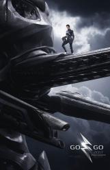 Power Rangers O Filme [2017] - Pôster Zord Preto