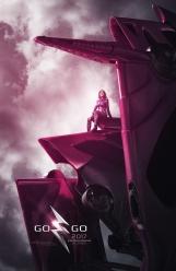 Power Rangers O Filme [2017] - Pôster Zord Rosa