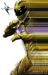 Power Rangers O Filme [2017] - Pôster Ranger Amarelo