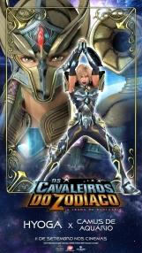 Os Cavaleiros do Zodíaco: A Lenda do Santuário - Pôster especial Hyoga vs. Camus