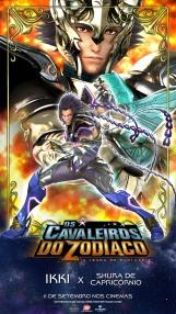 Os Cavaleiros do Zodíaco: A Lenda do Santuário - Pôster especial Ikki vs. Shura